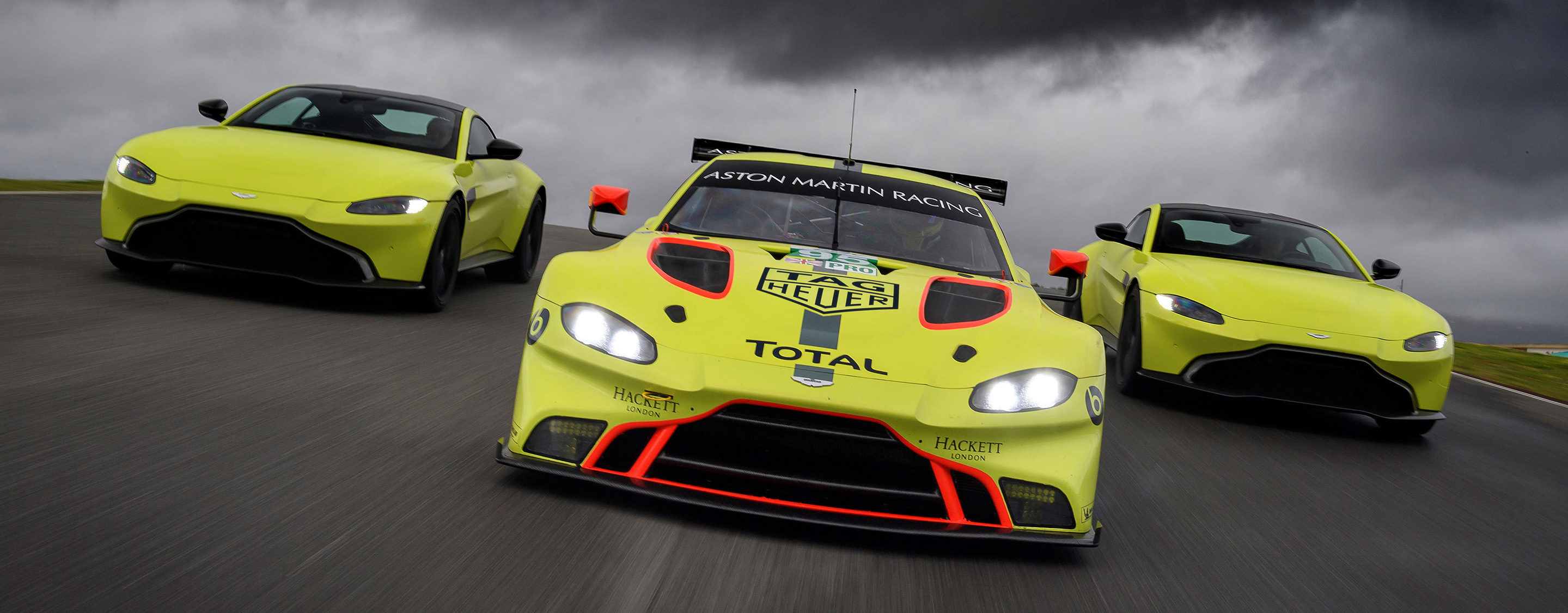 TrackWorthy - Aston Martin Racing Vantage GTE and Aston Martin Vantage