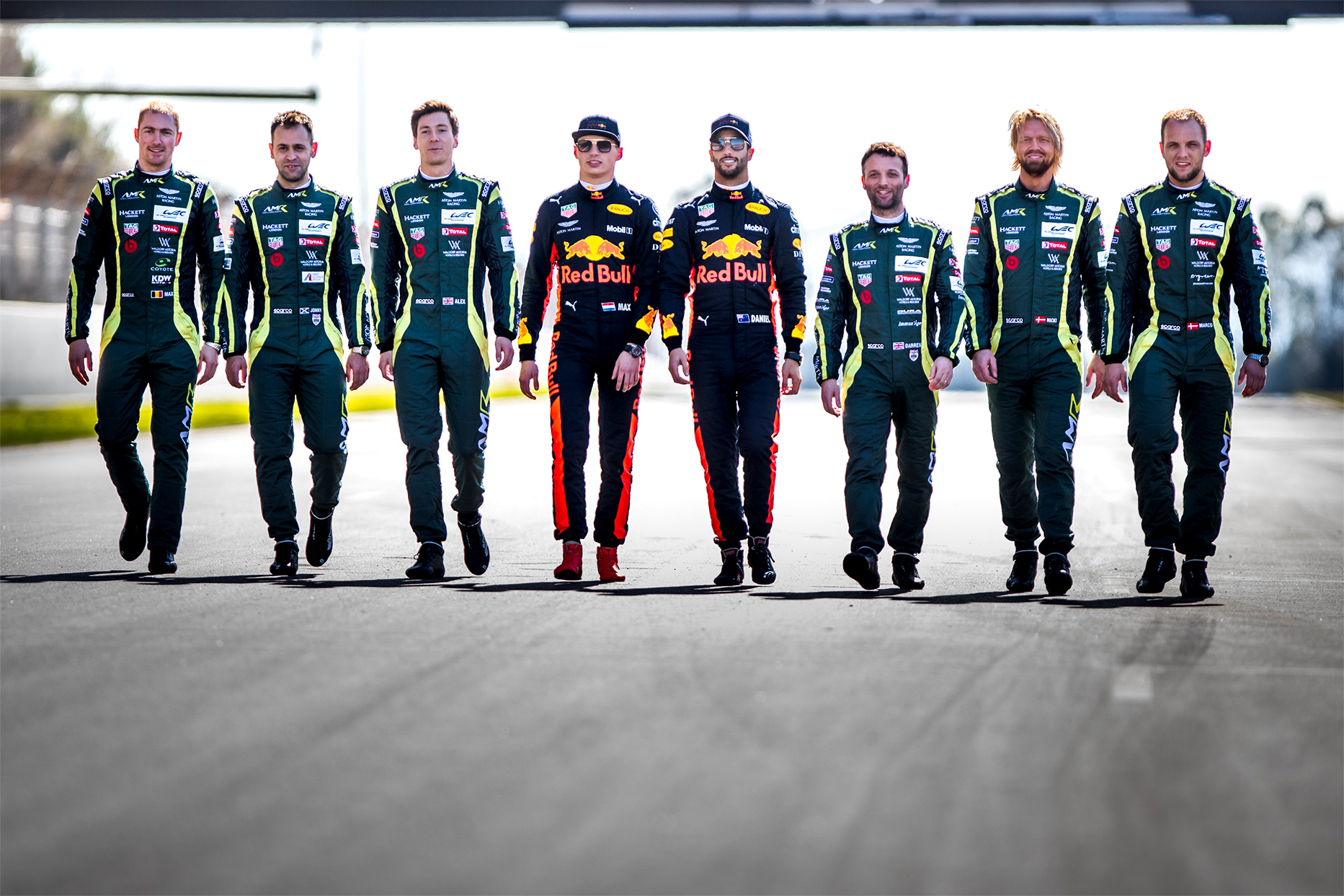 TrackWorthy - Aston Martin Red Bull Racing and Aston Martin Racing WEC Drivers