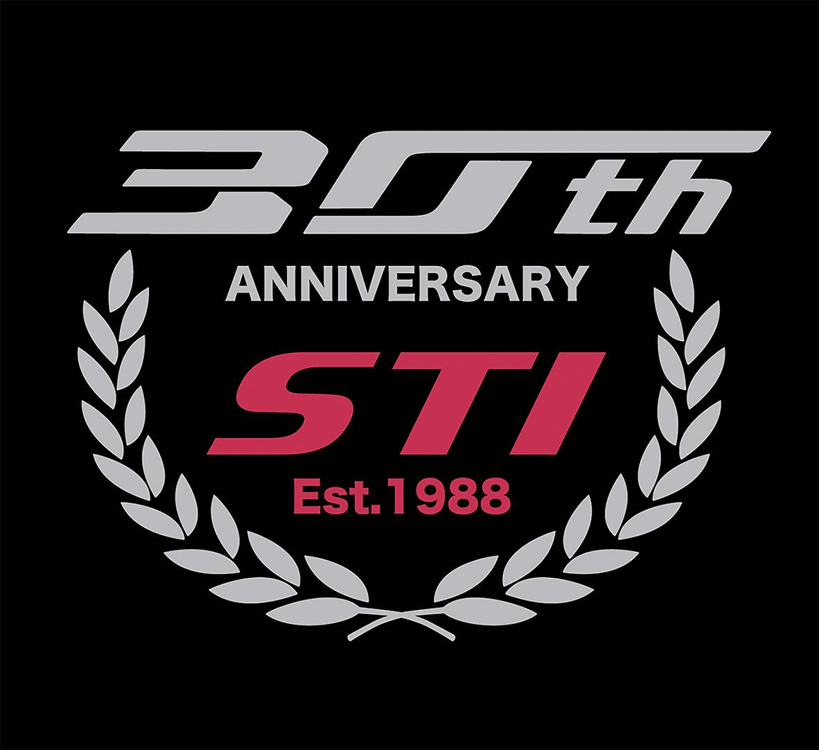 TrackWorthy - STI 30th Anniversary