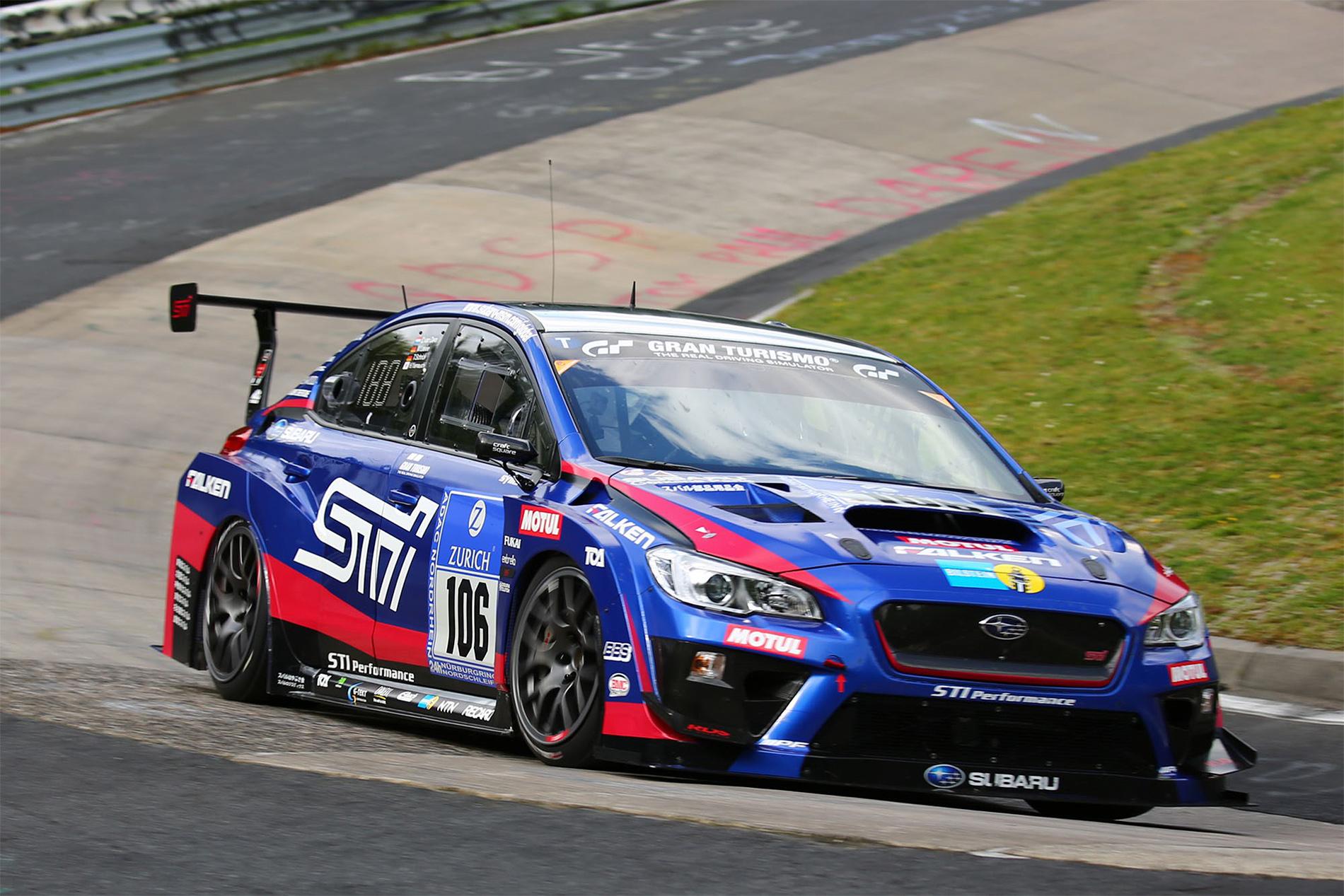 TrackWorthy - Subaru WRX STI NBR