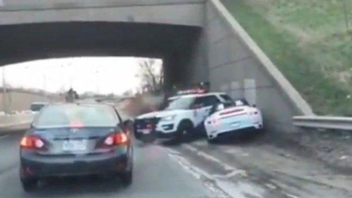 Toronto Police Stolen Porsche