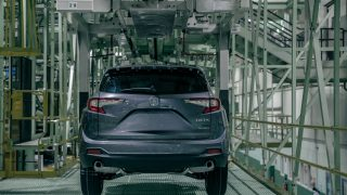 2019 Acura RDX Production Start