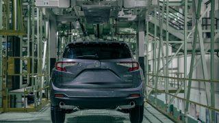 2019 Acura RDX Production Start