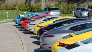Track Day a Plethora of Porsches