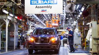 Subaru Ascent Production