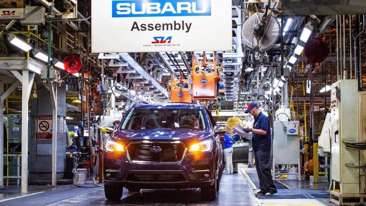 Subaru Ascent Production
