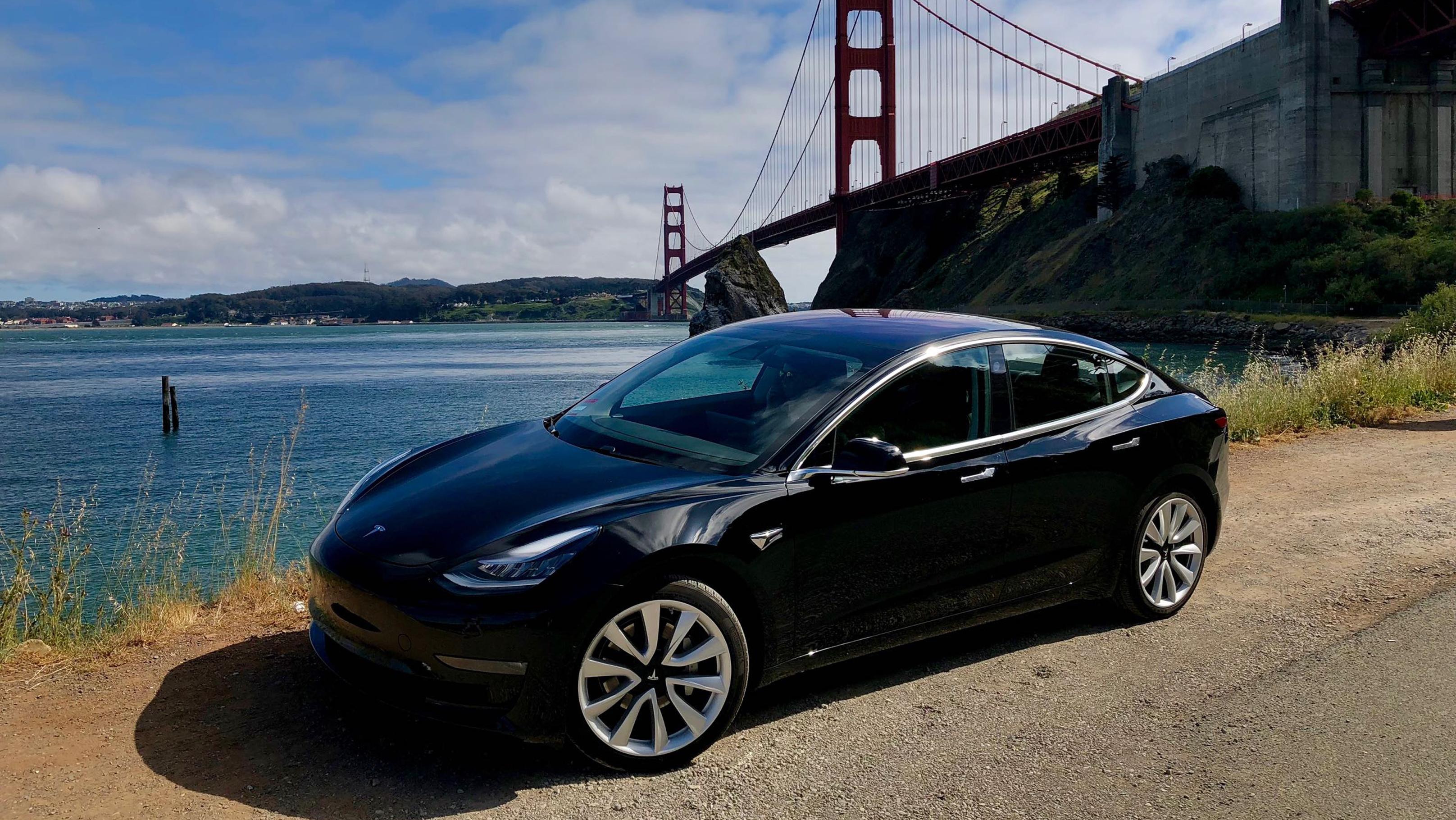 Review 2018 Tesla Model 3 Wheels Ca