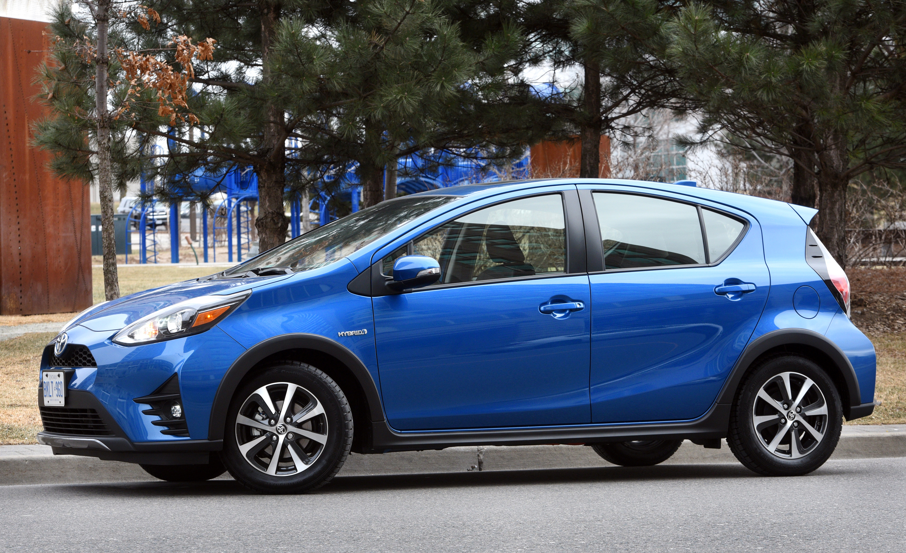 Review: 2018 Toyota Prius c Technology