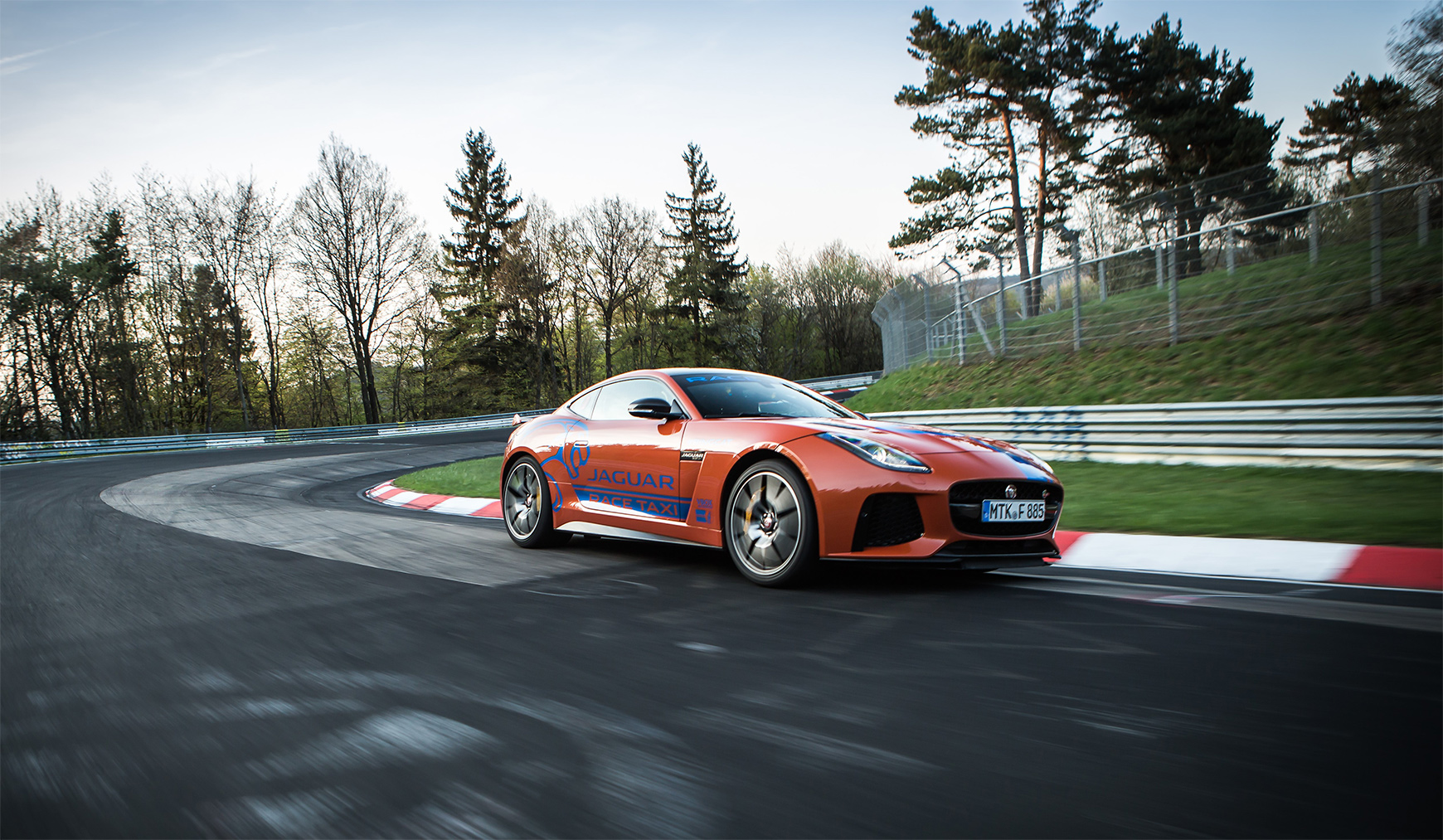 TrackWorthy - Jaguar F-TYPE SVR and XJR575 Nurburgring Race Taxis (6)