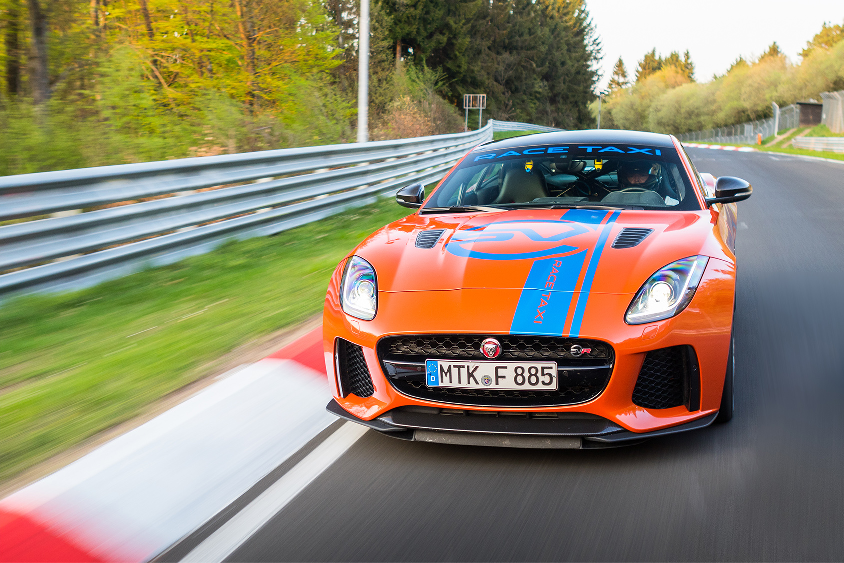 TrackWorthy - Jaguar F-TYPE SVR and XJR575 Nurburgring Race Taxis (7)