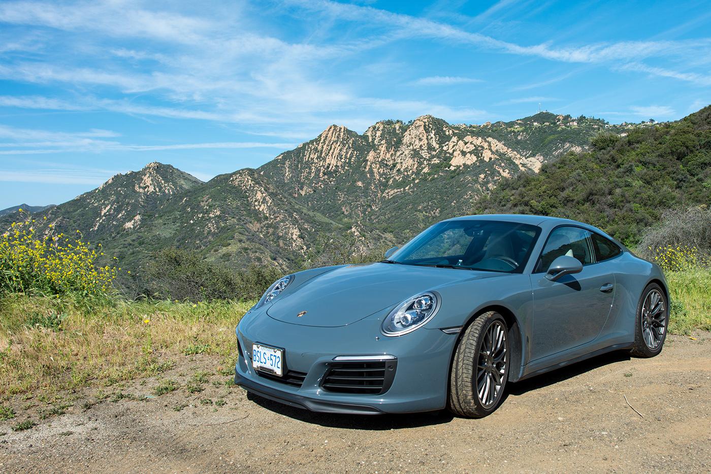 Toronto to L.A. in a Porsche 991.2 911 C4S - Actual Route