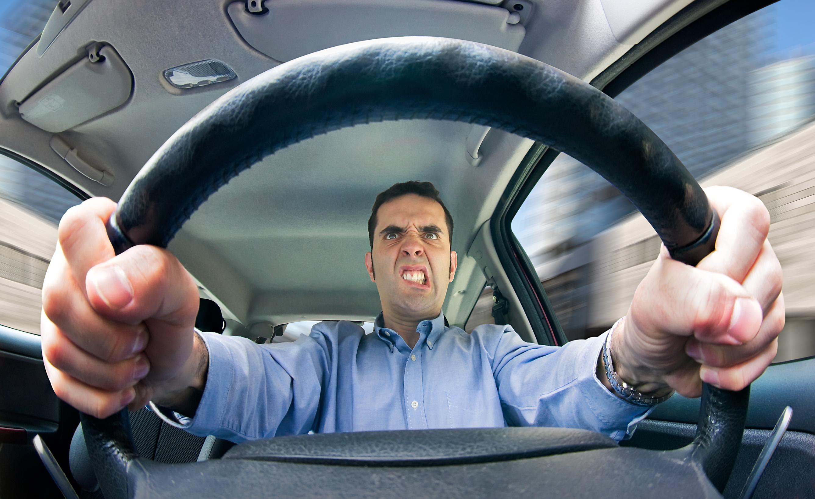 Poor driving etiquette