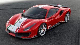 Piloti Ferrari 488 Pista