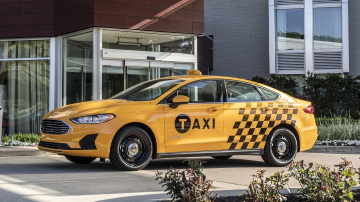 Ford offers Hybrid and Diesel Taxi Options