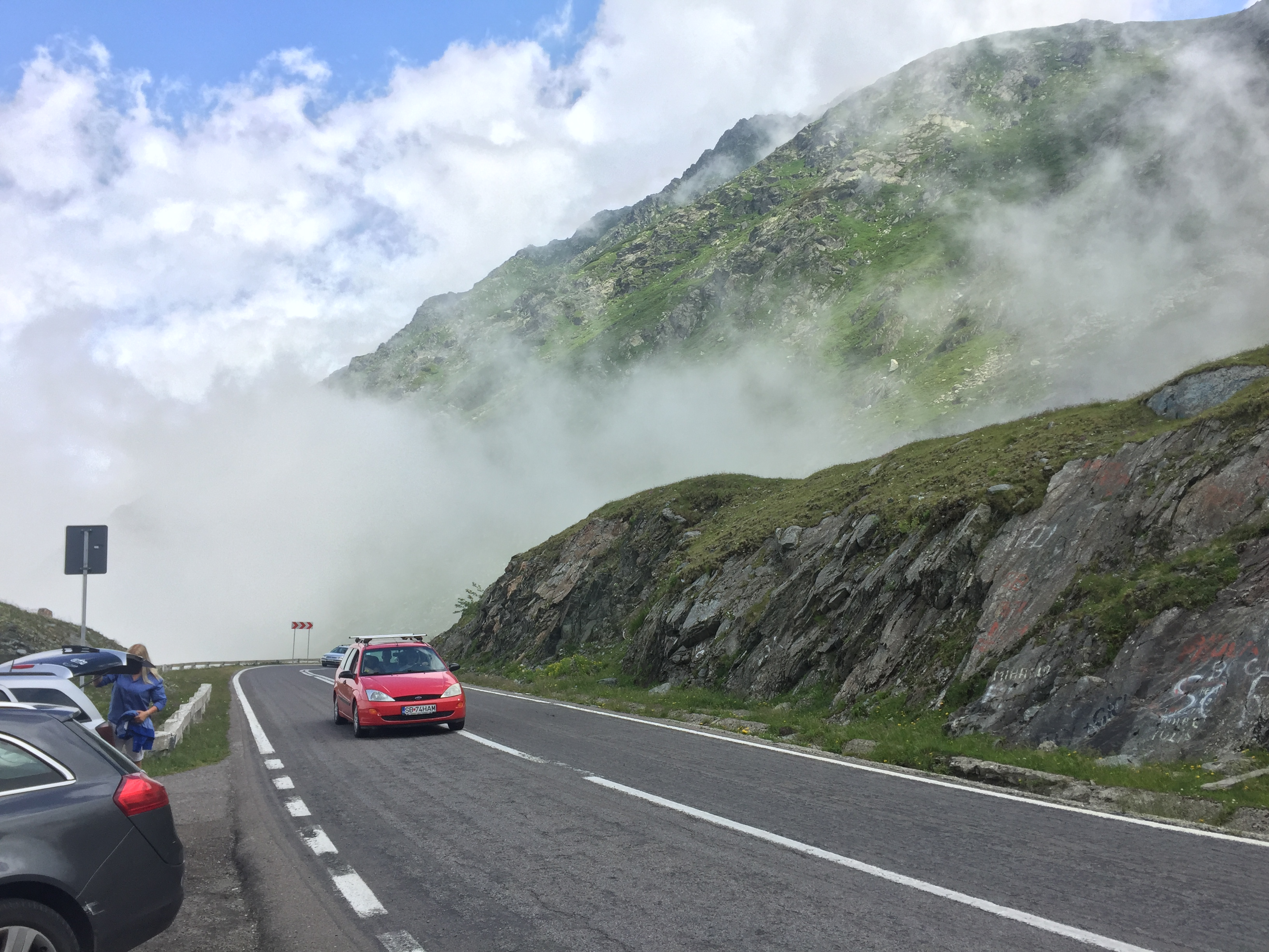 Driving the 'best road in the world': the Transfagarasan