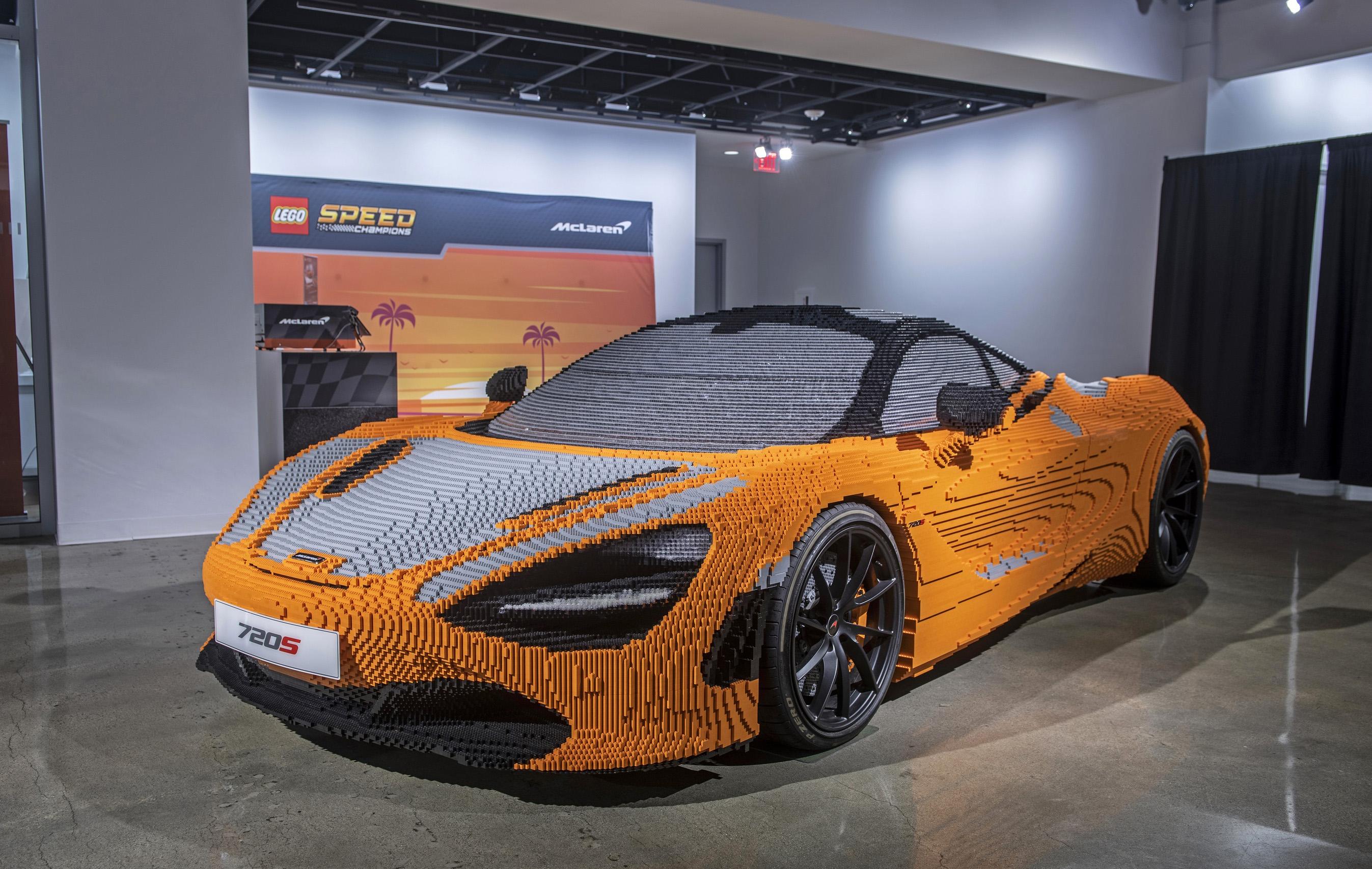LEGO Builds Full-size McLaren – WHEELS ca