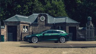 Tesla Model Shooting Brake