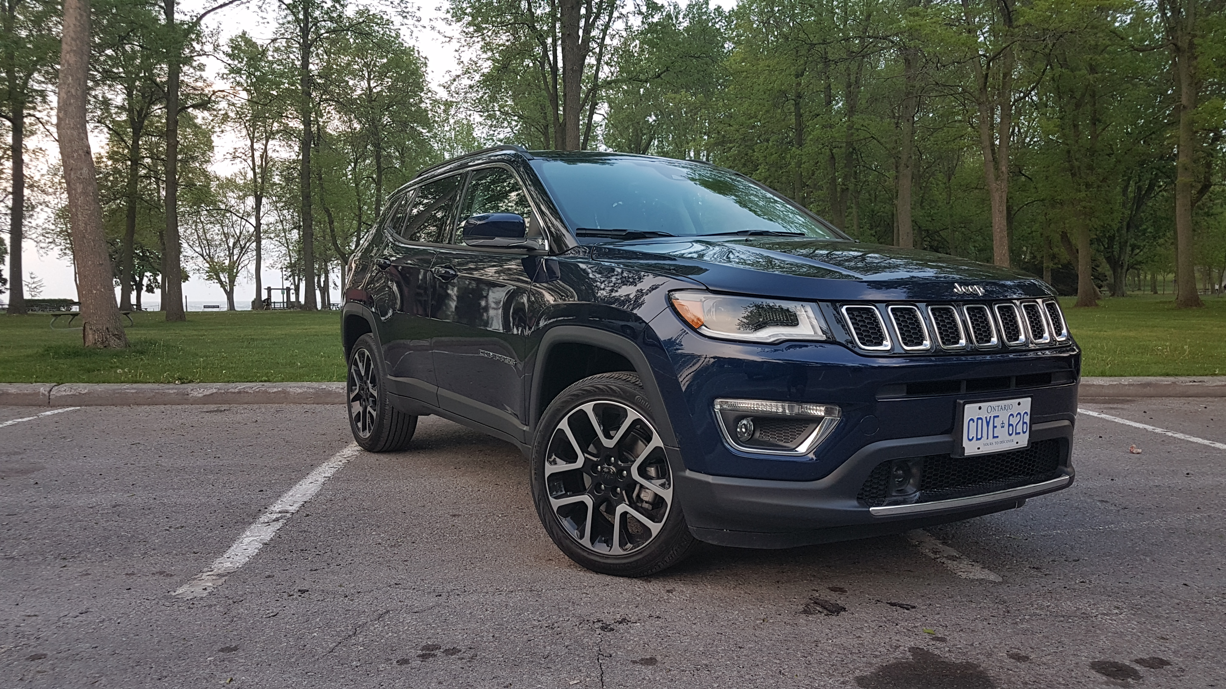 review 2018 jeep compass limited 4x4 wheelsca