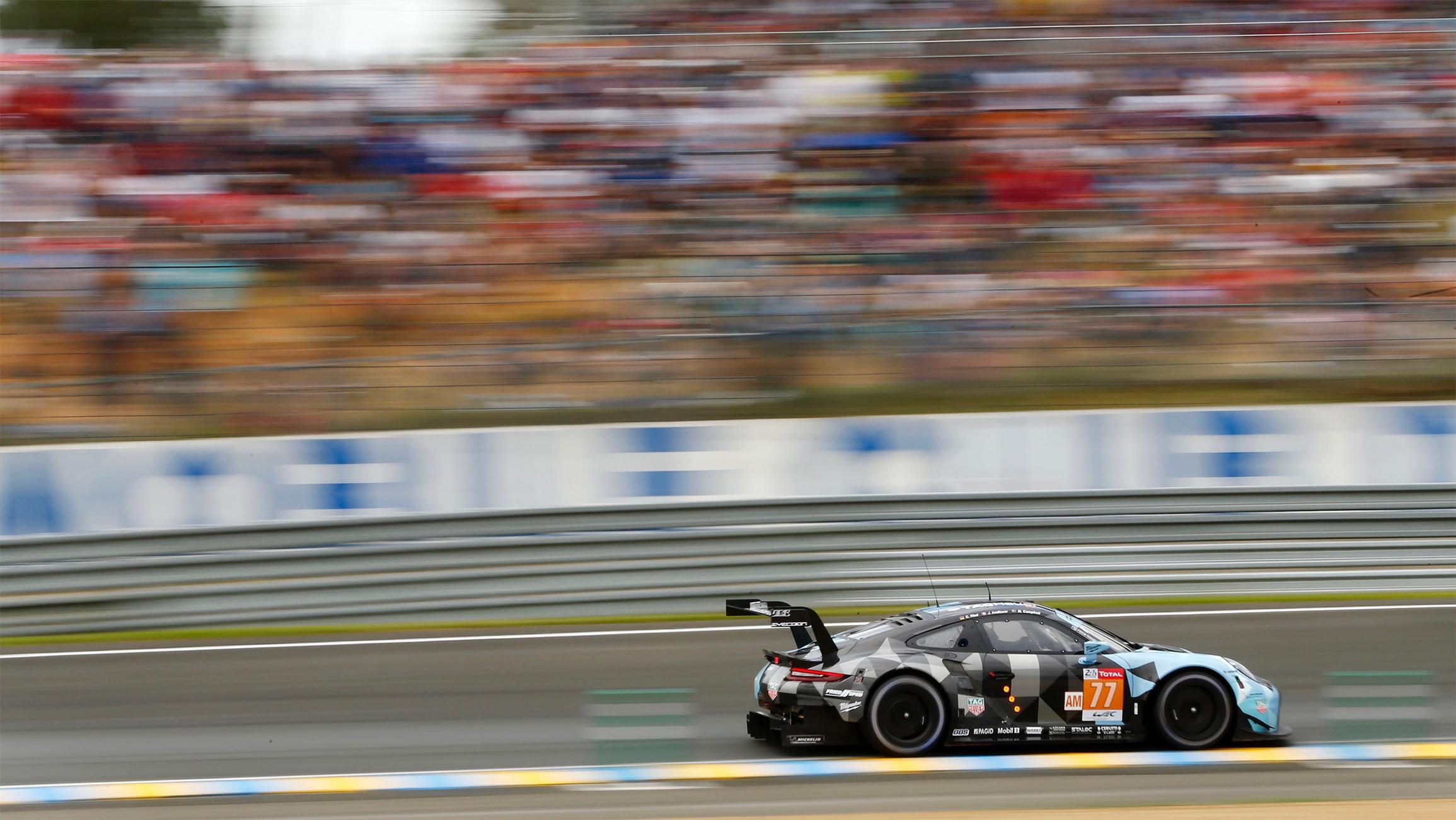 TrackWorthy - No. 77 Porsche 911 RSR