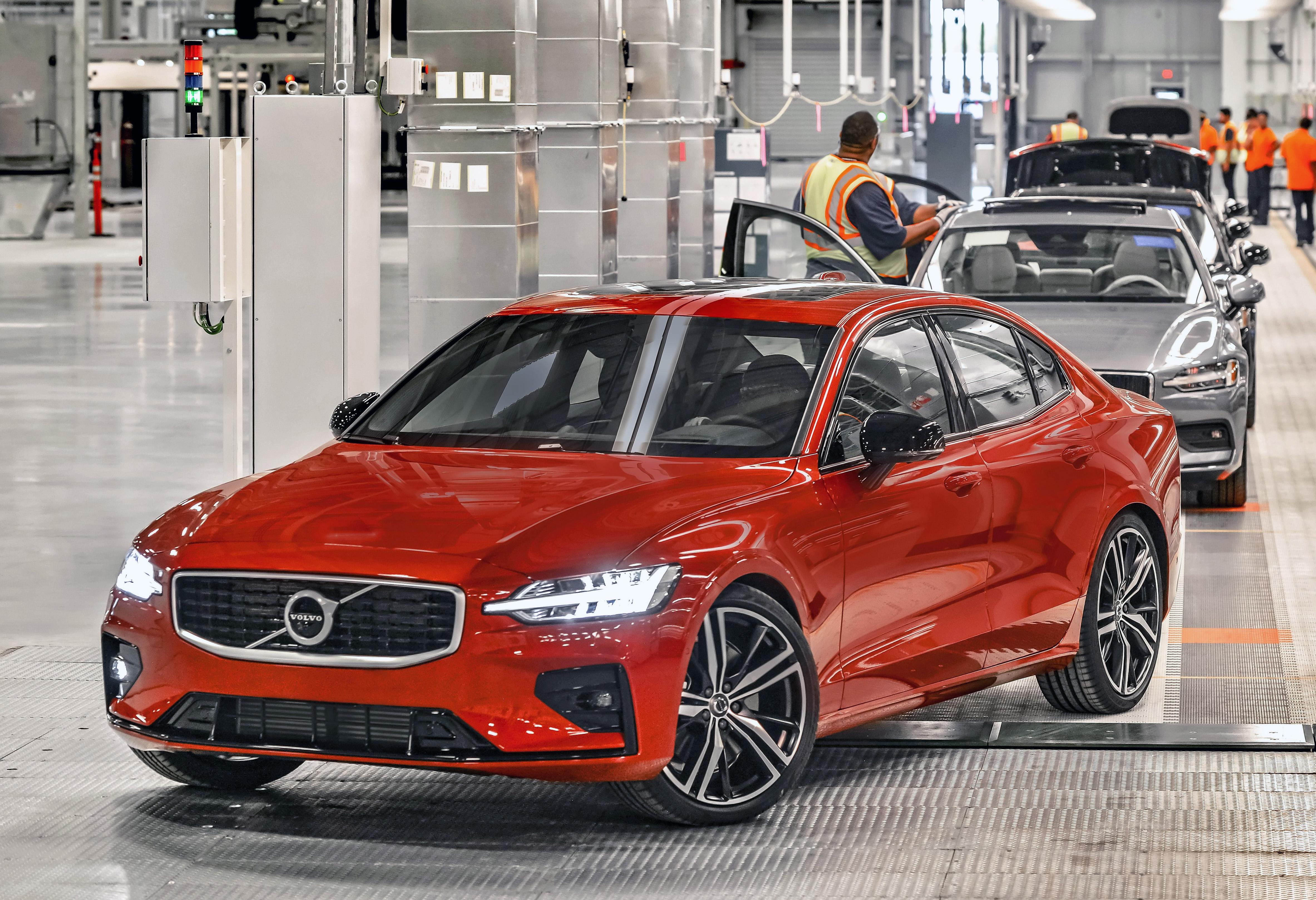 S60 luxury sedan