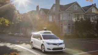 Waymo's self-driving fleet