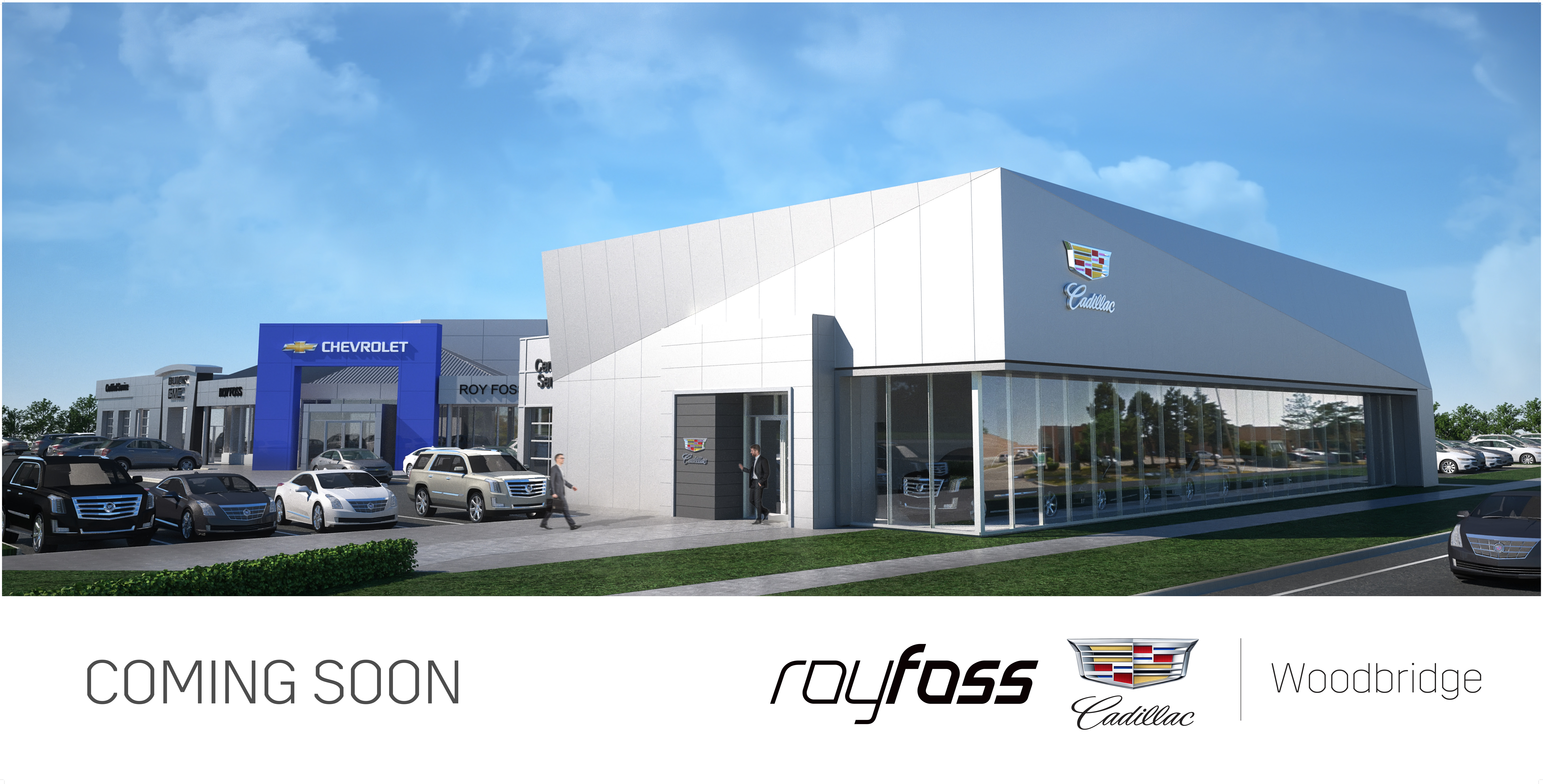 completes morrissey cadillac buick gmc renovation construction dealership quality post inside