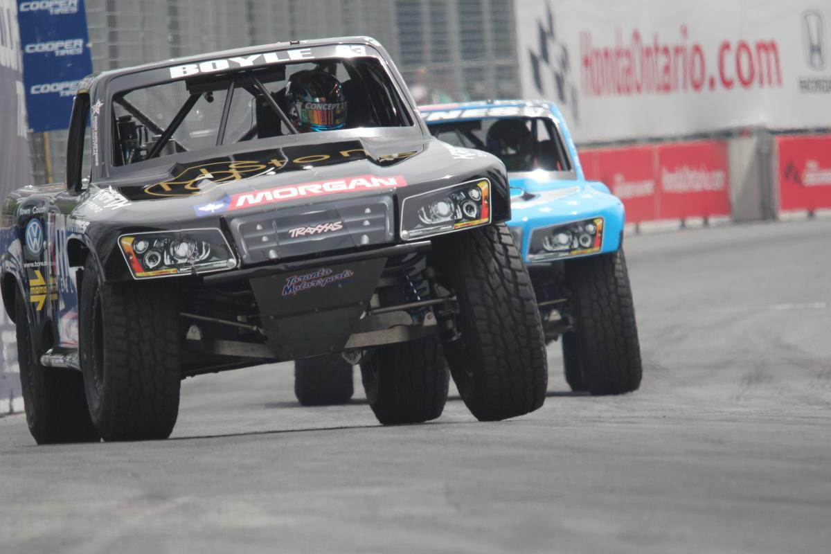 Racing Super Trucks