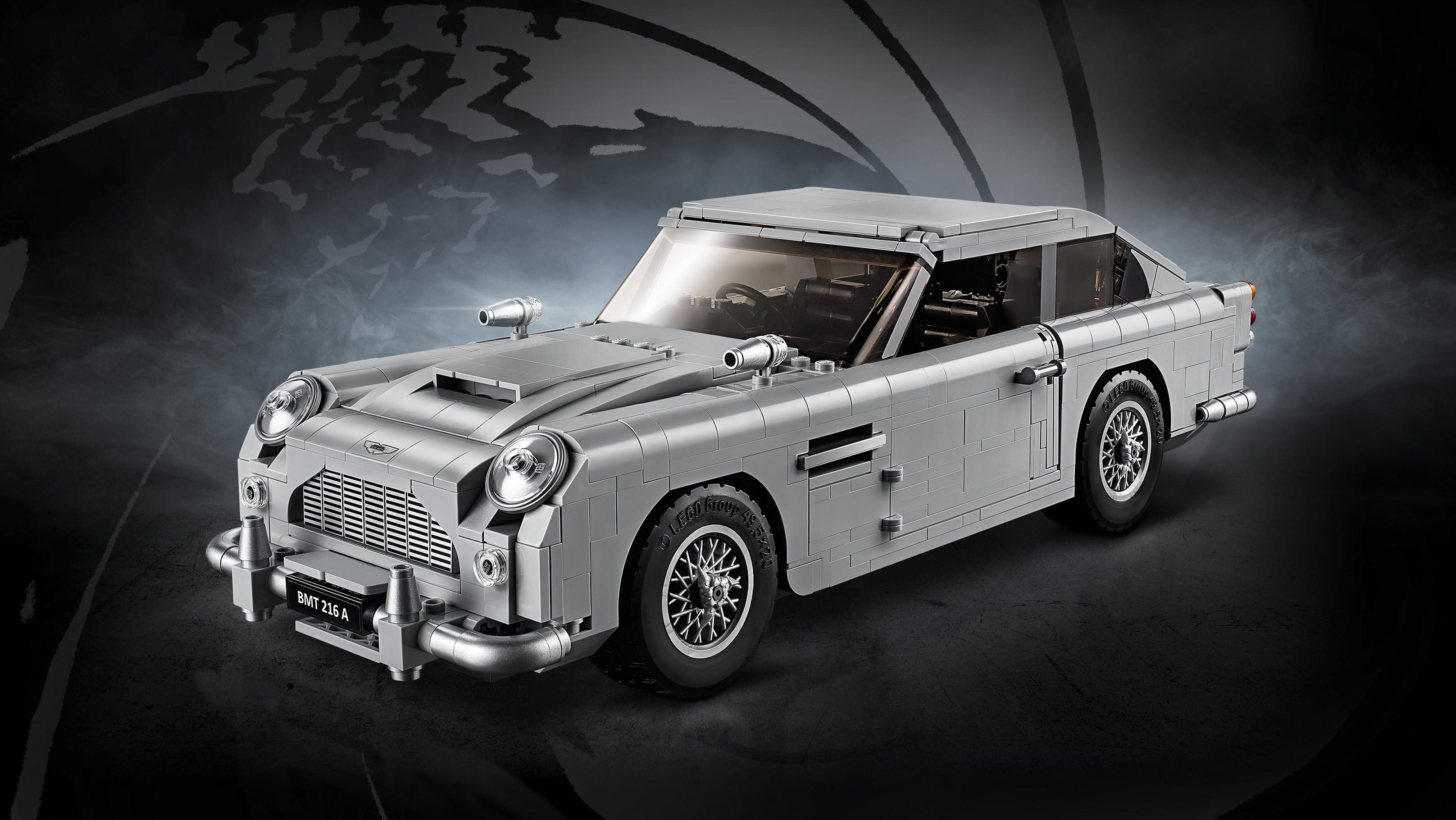 Lego Bond Aston Martin