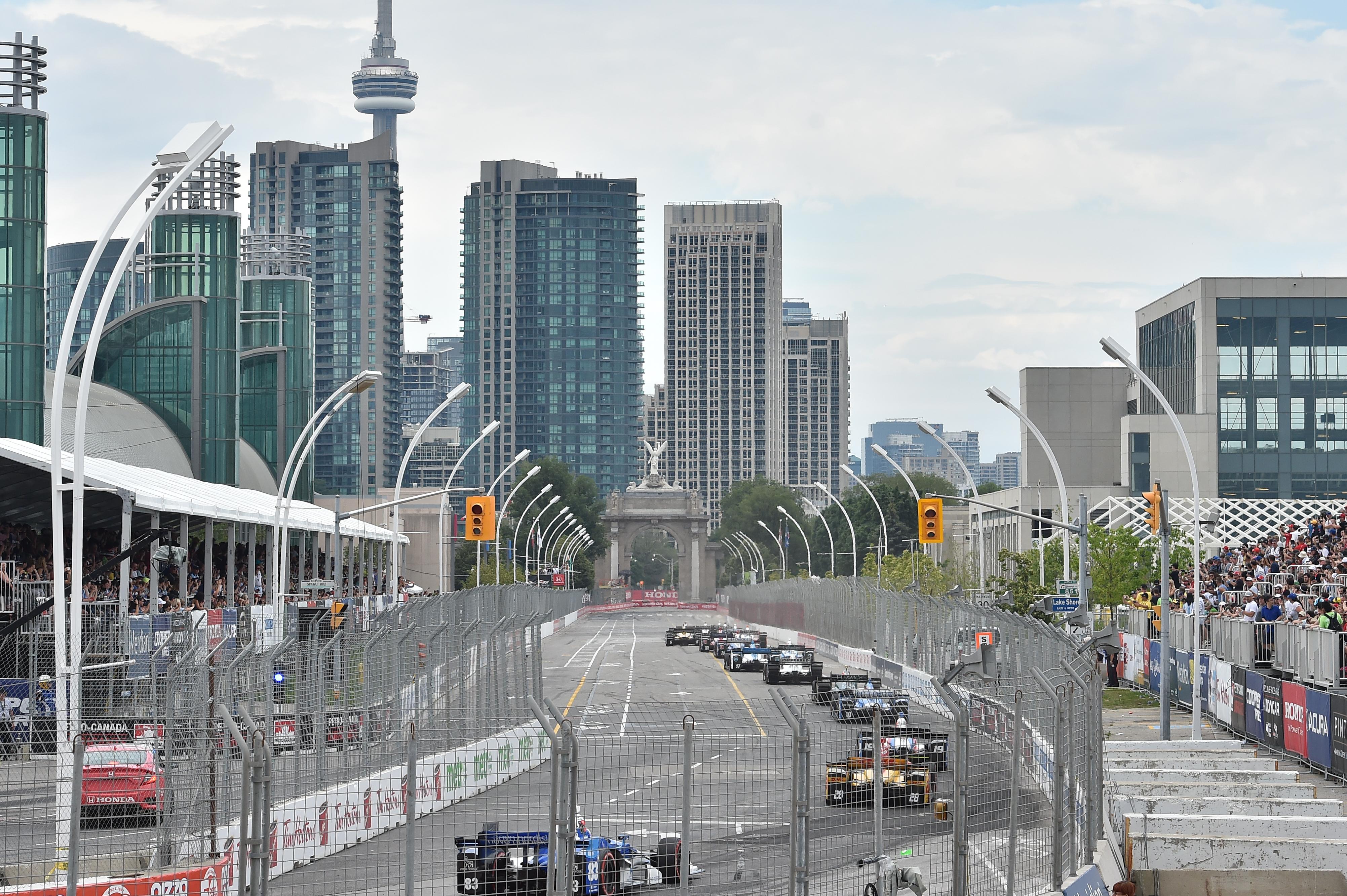 2018 Honda Indy Toronto Drivers