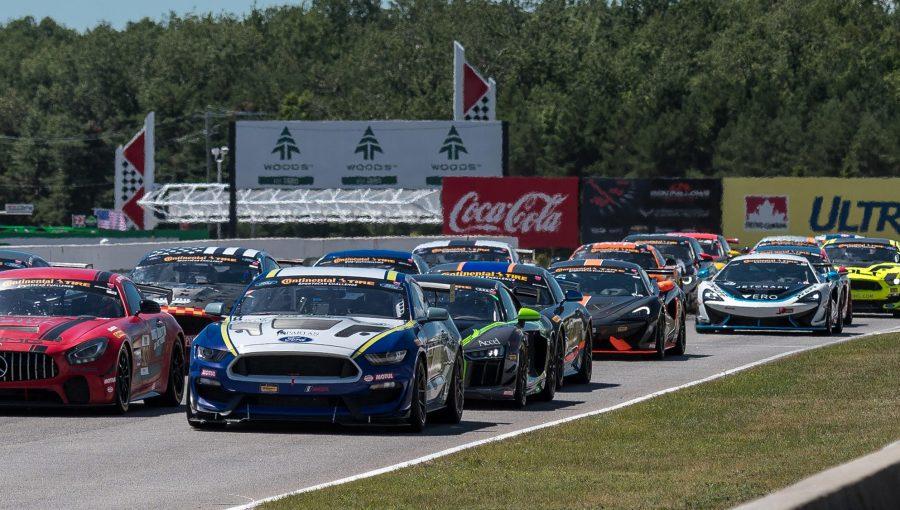 Continental Tire Sportscar Challenge_ Race start green flag-2