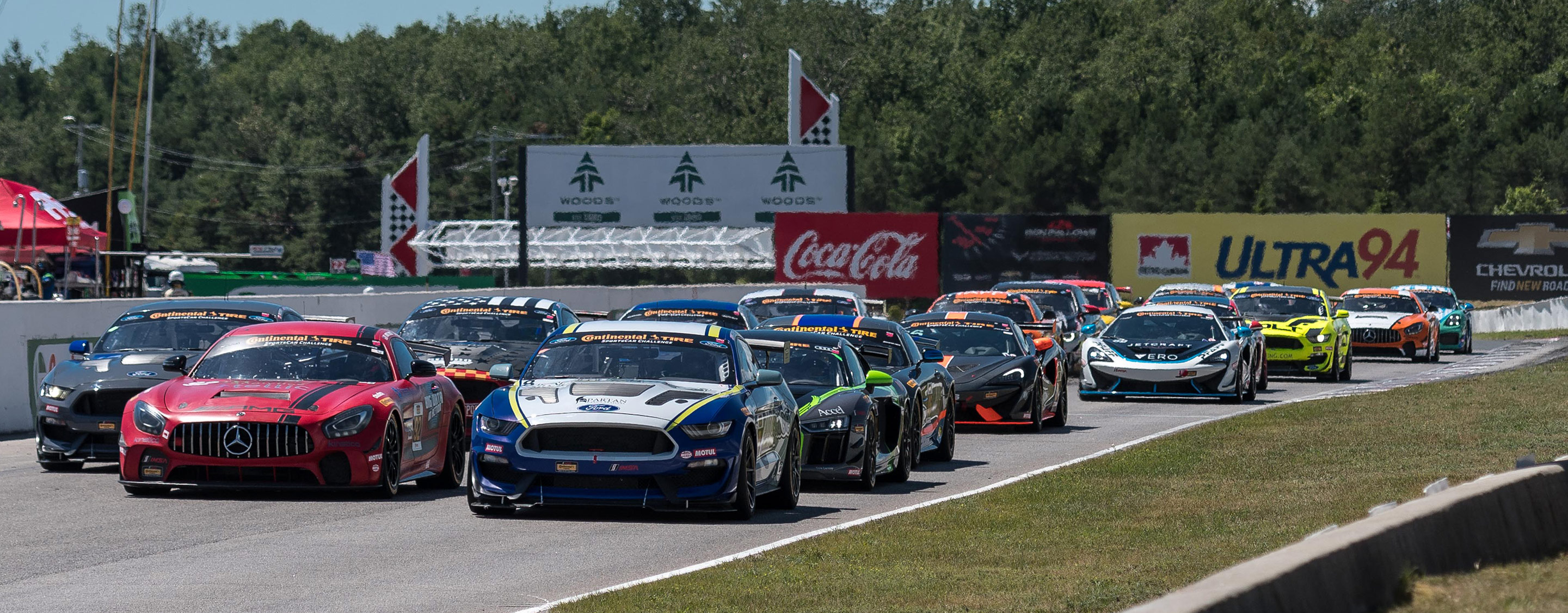 Continental Tire Sportscar Challenge_ Race start green flag-2