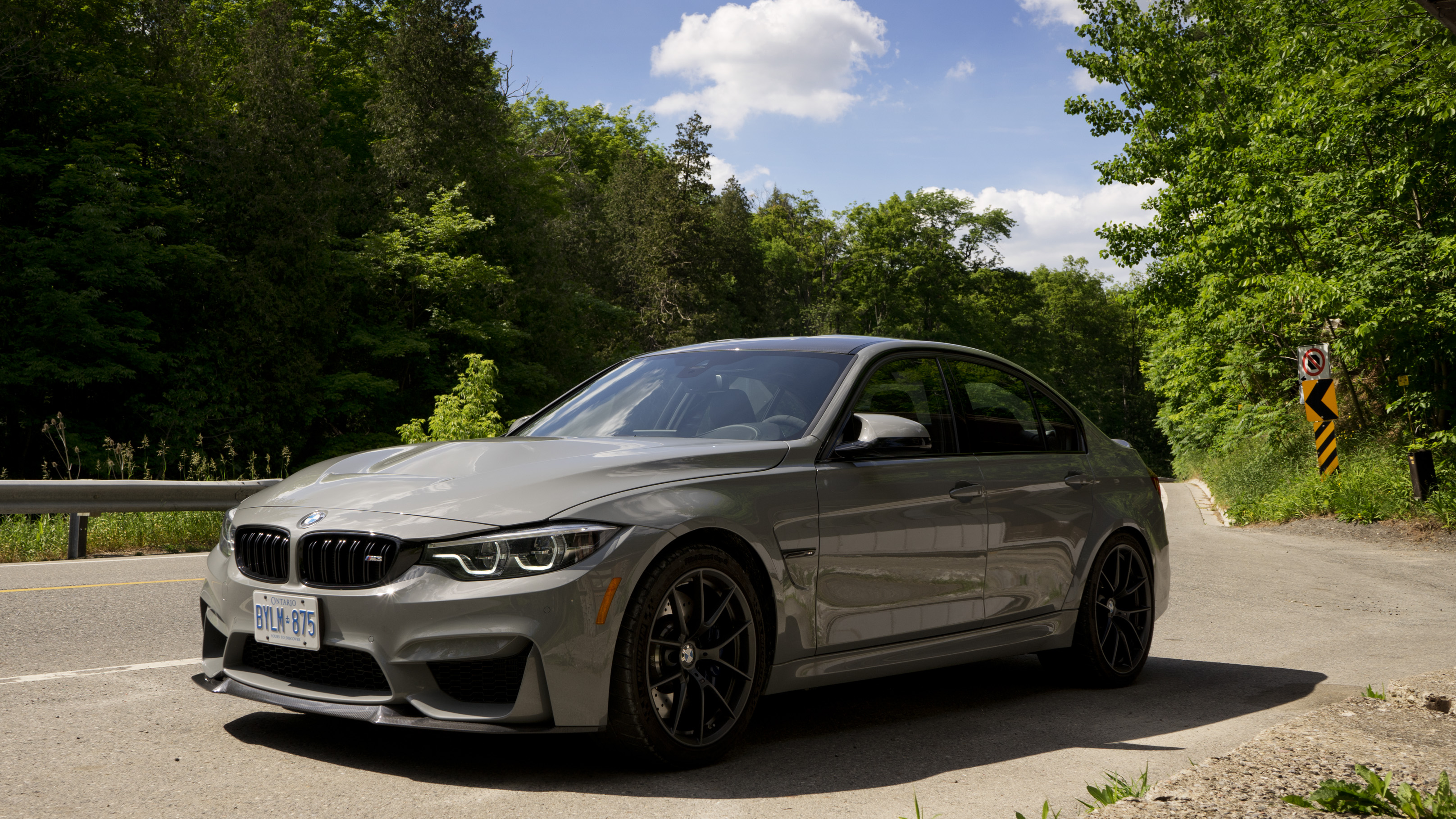 Review 2018 Bmw M3 Cs Wheels Ca