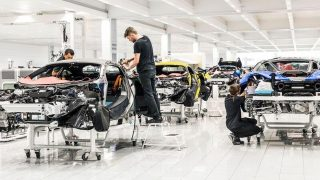 Mclaren production
