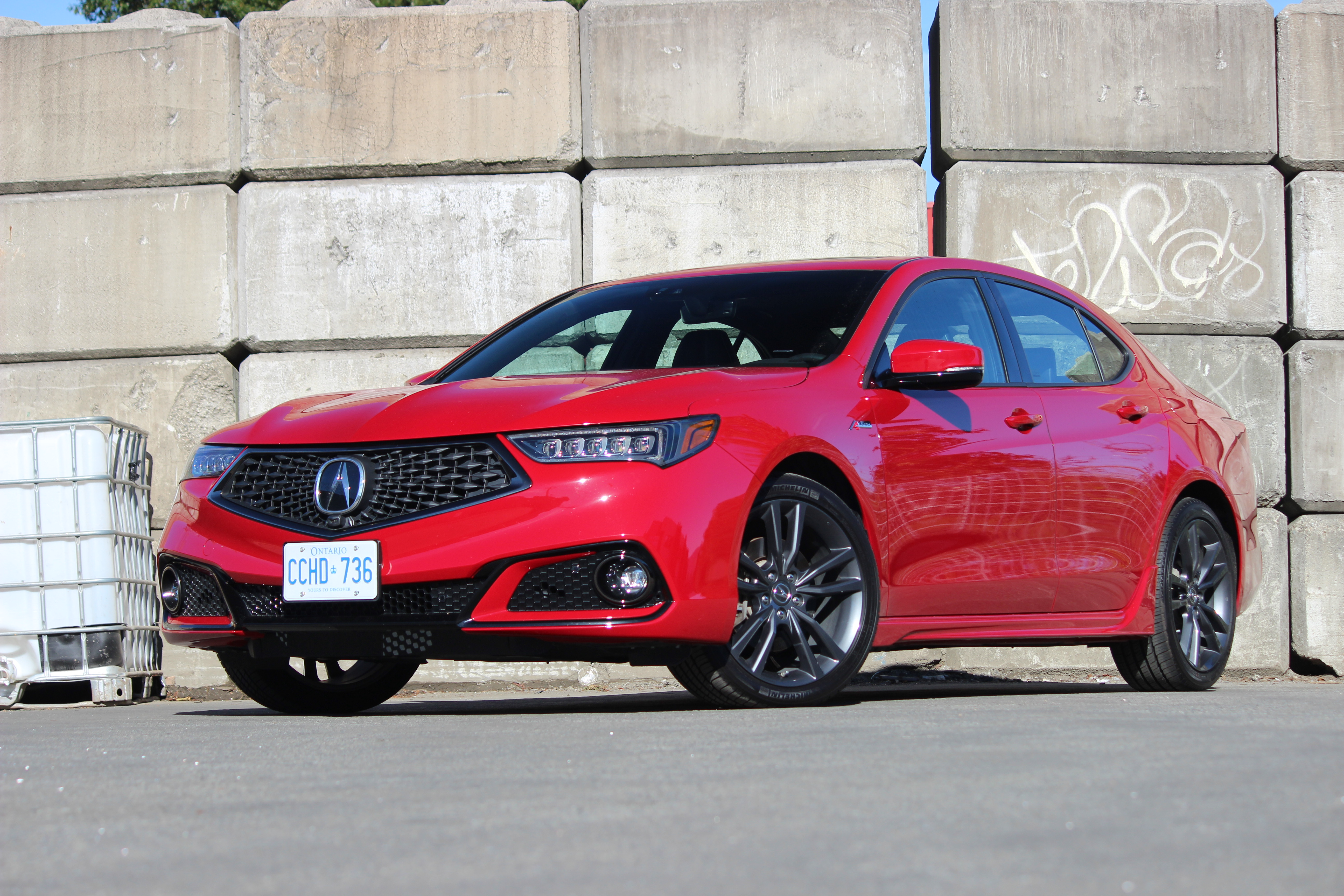 Review 2018 Acura TLX SH-AWD Elite A-Spec