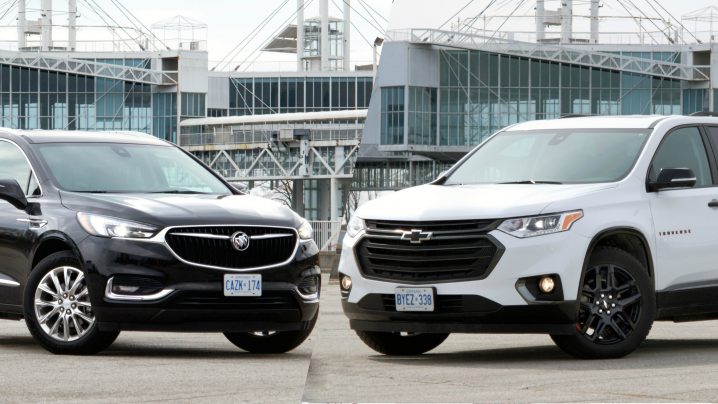 Review: 2018 Chevrolet Traverse Premier AWD & 2018 Buick Enclave Premium AWD