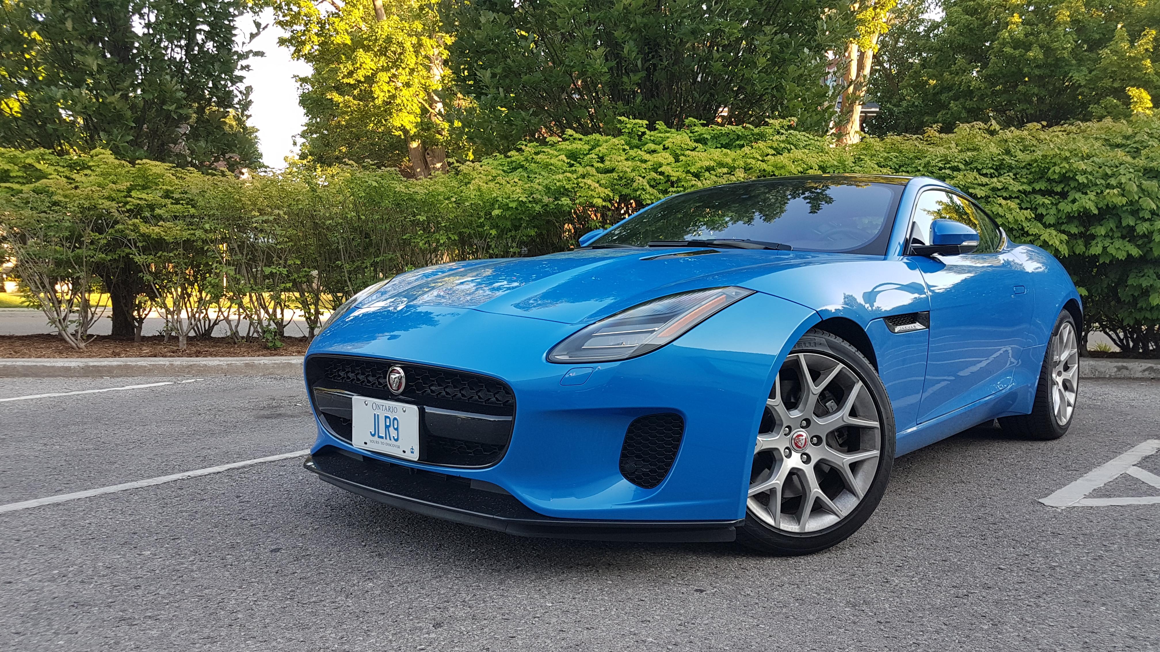 Review 2018 Jaguar F-Type coupe