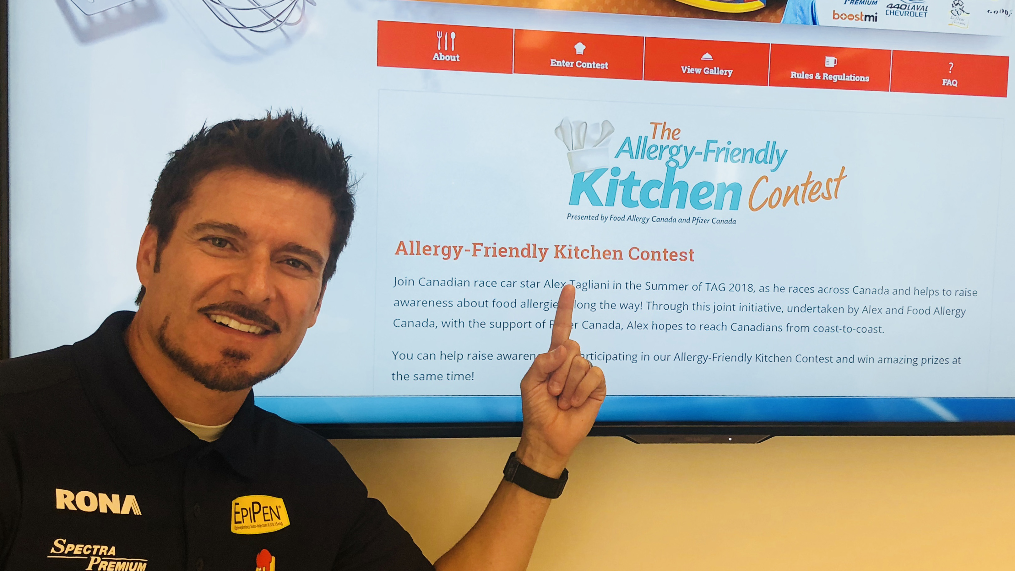 alex tagliani kitchen contest