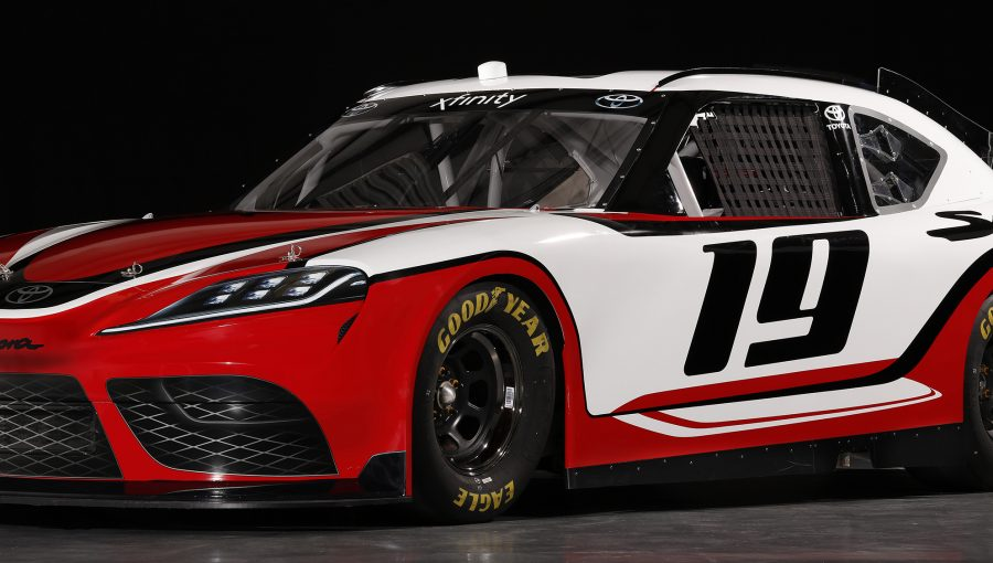 TrackWorthy - 2019 NASCAR Xfinity Series Toyota Supra (1)