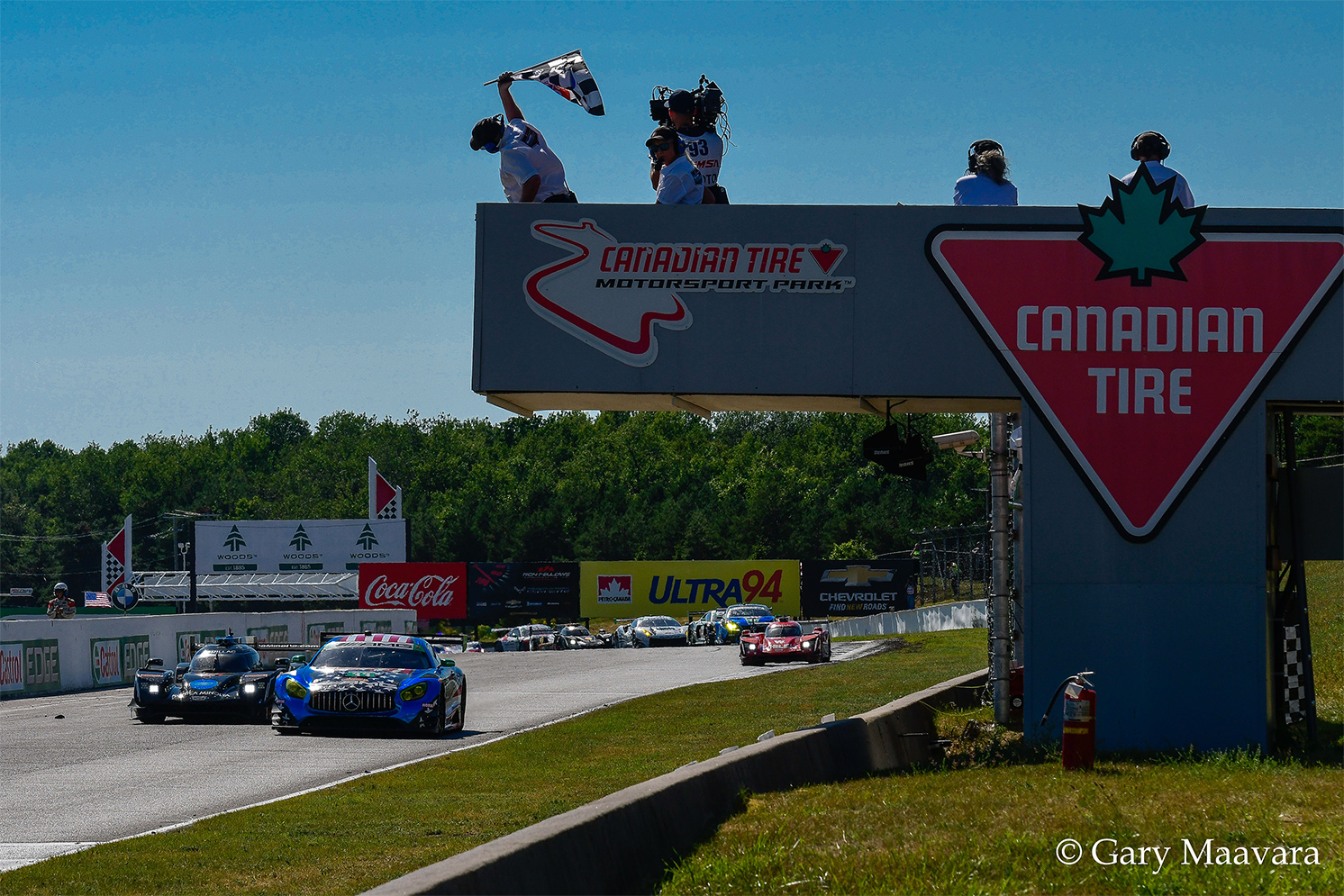 TrackWorthy - Mobil 1_#33_Mercedes-AMG_takes checkered flag_GTD winner