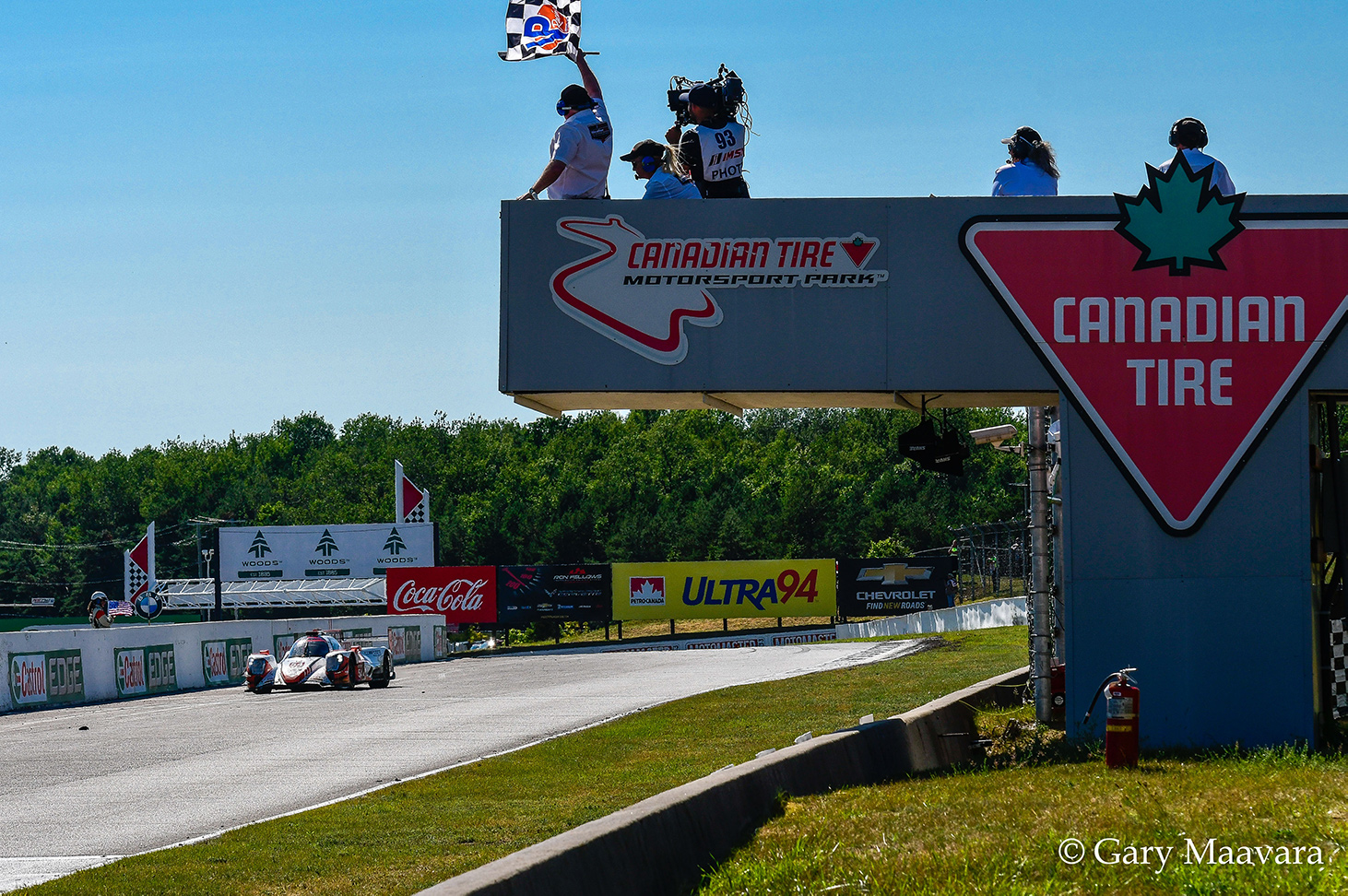 TrackWorthy - Mobil 1_#54_Oreca LMP2, Core Motorsports_takes checkered flag