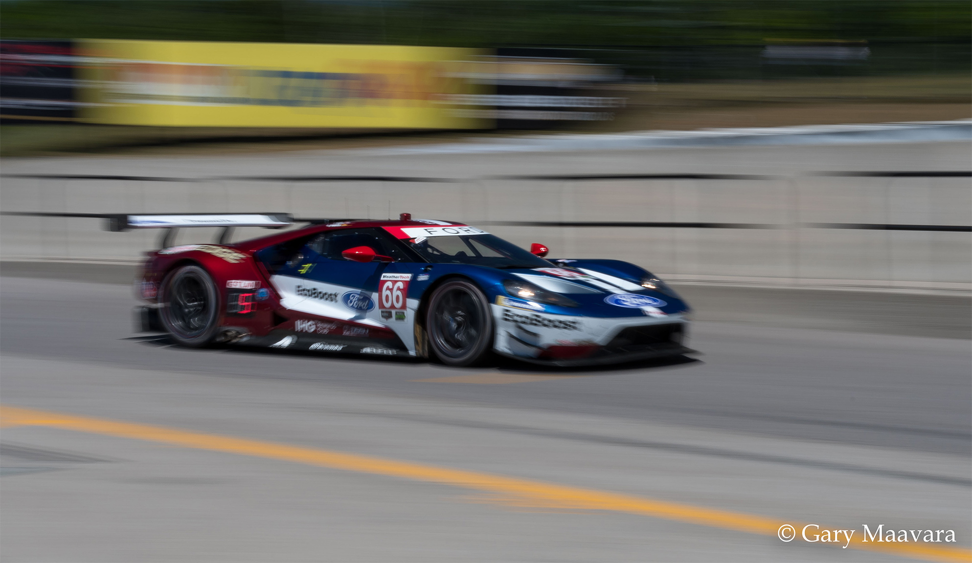 TrackWorthy - Mobil 1_#66_Ford GT_practice