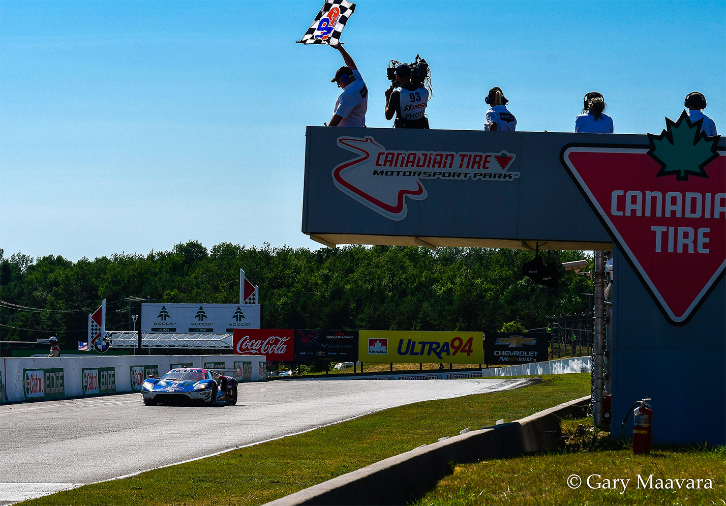 TrackWorthy - Mobil 1_#67_Ford GT_Ford Chip Ganassi Racing_takes checkered flag