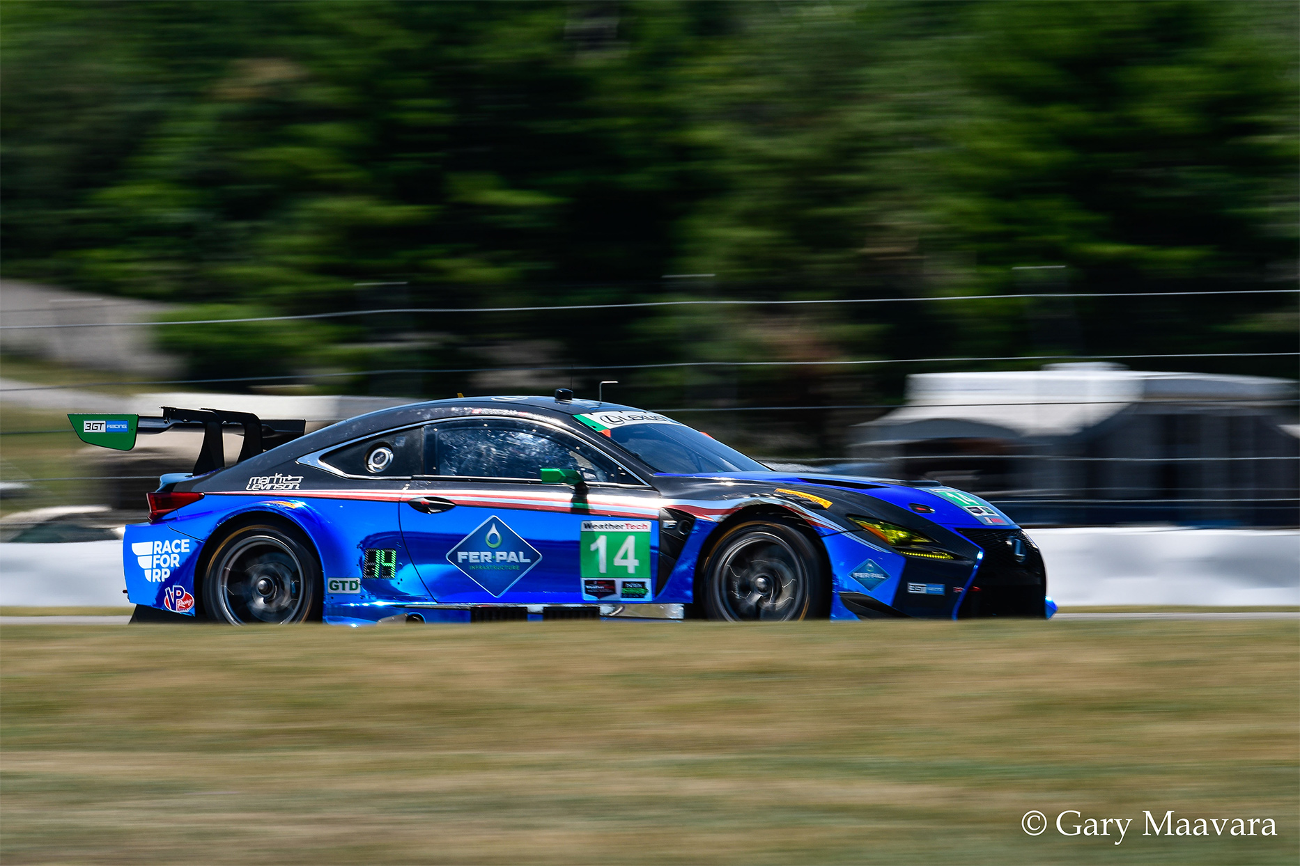 TrackWorthy - Mobil 1_Race_#14_Lexus RCF GT3_The Esses