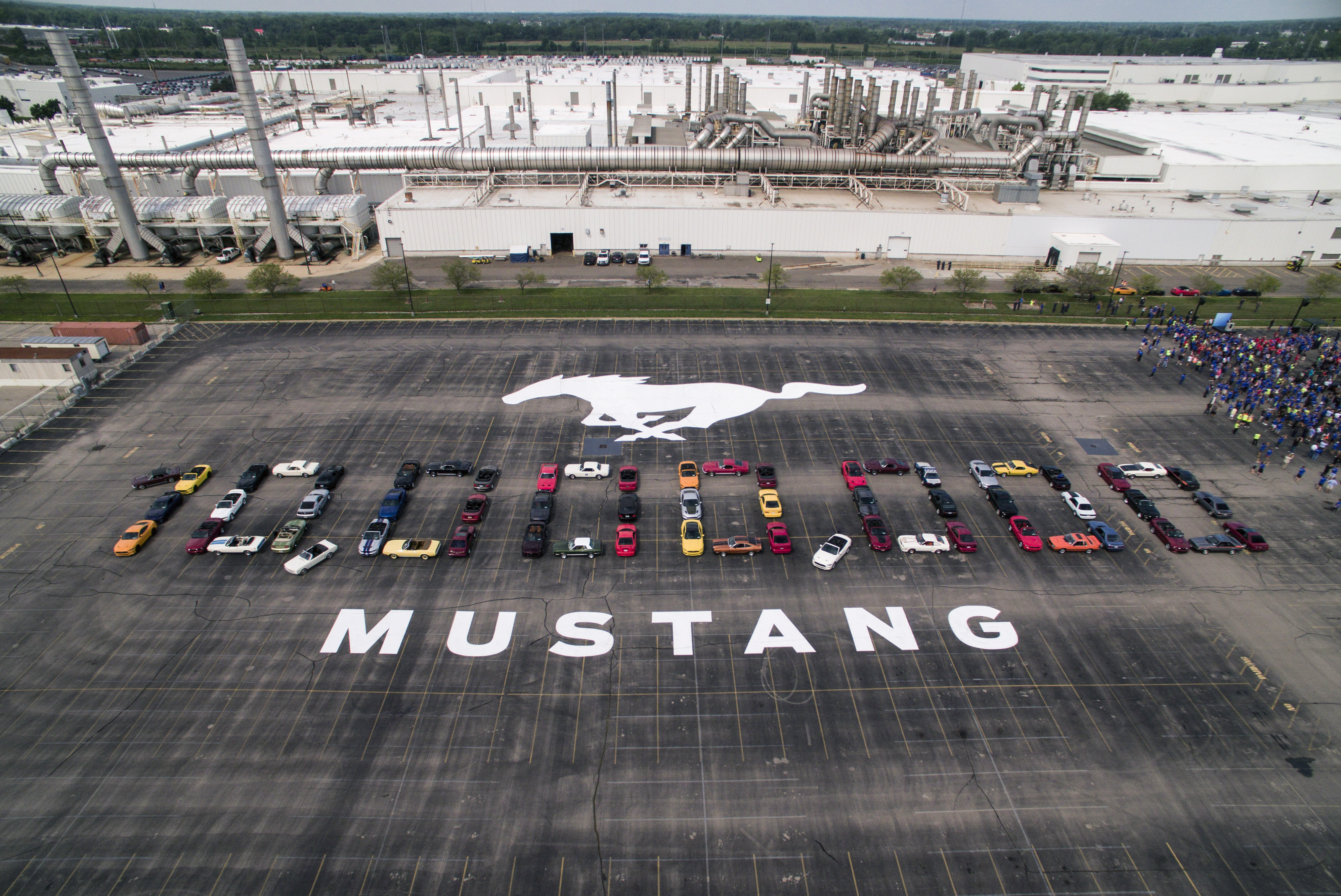 10 Millionth Mustang