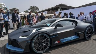 Bugatti Divo Unveiled at The Quail