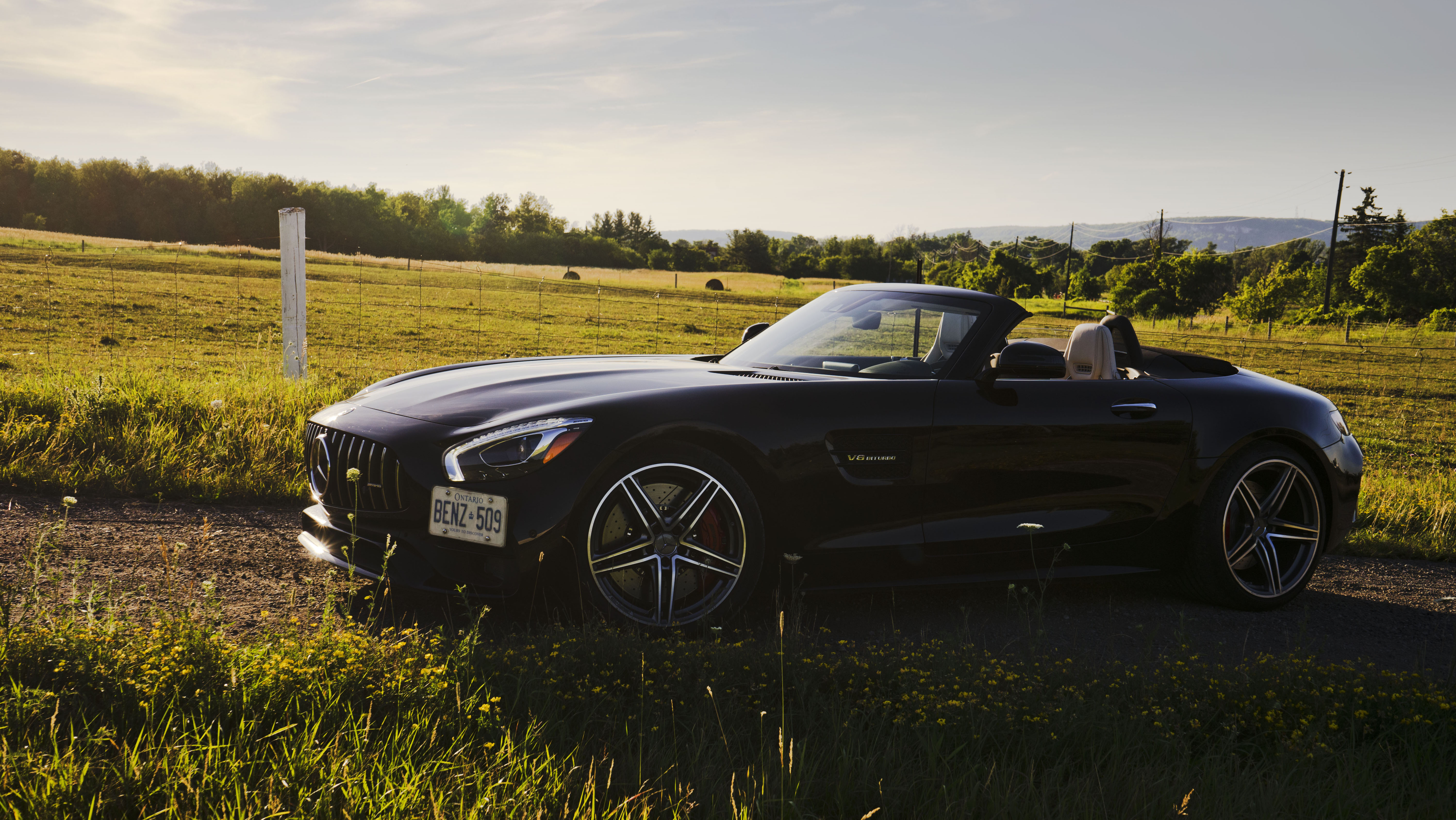 Review 2018 Mercedes Amg Gt C Roadster Wheels Ca