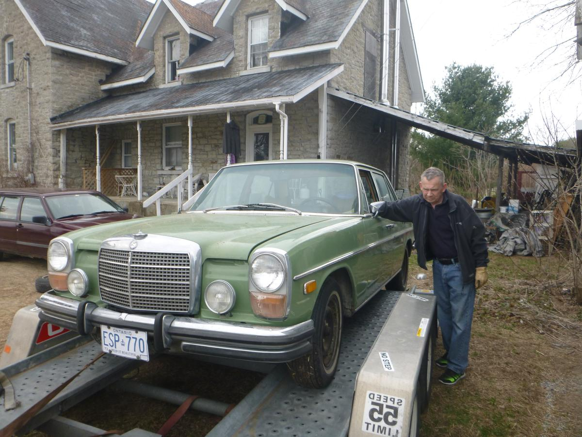 Eye Candy 1973 Mercedes-Benz 280