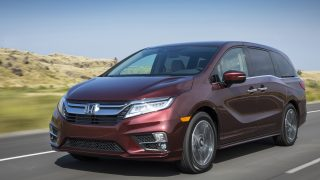 "Honda Odyssey earns ""Good"" Safety Rating"