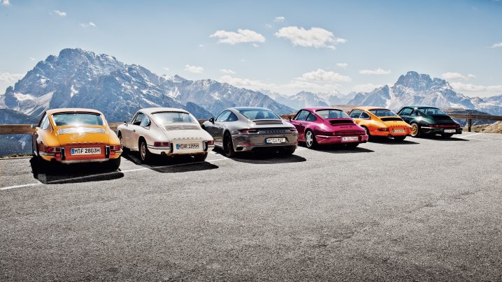 Cars and Curves: A Tribute to 70 Years of Porsche