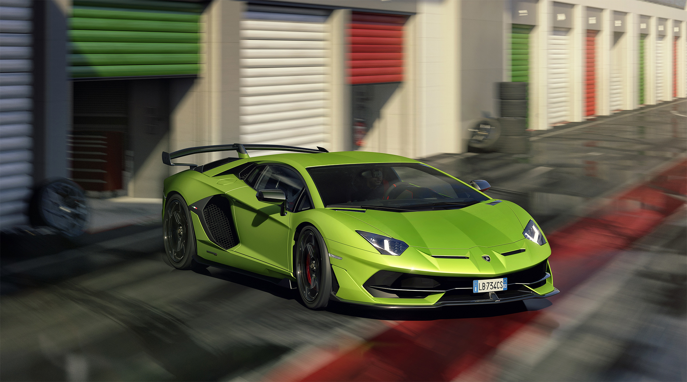 TrackWorthy - Lamborghini Aventador SVJ (1)